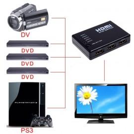 HDMI switch свитч переключатель 5х1 с пультом