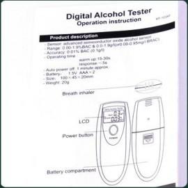 Алкотестер электронный компактный