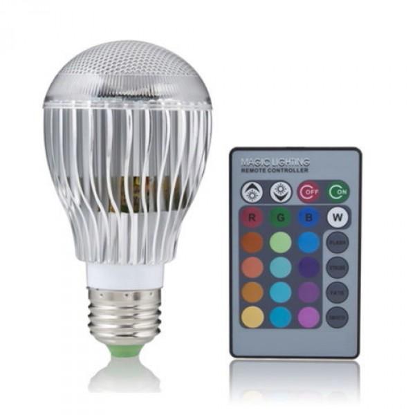 Цветная светодиодная лампа купить