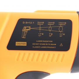 Термометр-пистолет инфракрасный электронный