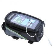 Велосумка на раму для телефона и мелочей