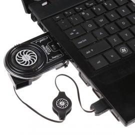 Кулер вентилятор для охлаждения ноутбука внешний компактный