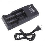 Портативное универсальное зарядное устройство TrustFire TR001 для литий-ионных батарей