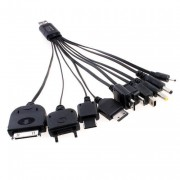 Универсальный USB переходник на 10 устройств - зарядка телефона, передача данных