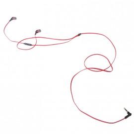 Вакуумные наушники с микрофоном для телефона