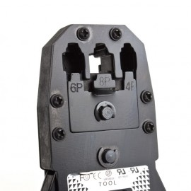 Обжим витой пары RJ45 RJ11 RJ12 из магнитной стали