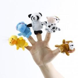 """Детские игрушки на руку на пальцы, пальчиковый театр """"зверюшки"""""""
