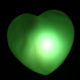 Сердце светящееся разными цветами - набор 2 шт