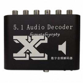 Аудио декодер 5.1 dolby surround преобразователь цифрового аудио в аналоговый