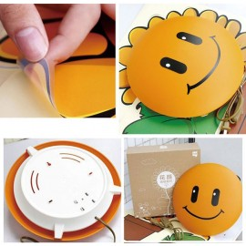 Светодиодный ночник для детской комнаты с настенным 3D рисунком Поросенок