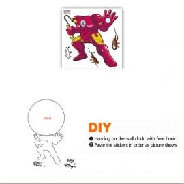 """Настенные часы 3D """"трансформер"""" для детской"""