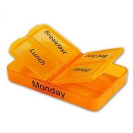 Органайзер для таблеток на 7 дней (дневные контейнеры для лекарств)