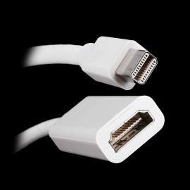Переходник адаптер с Mini DisplayPort на HDMI для ноутбука Apple MacBook