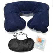 Набор для отдыха: подушка, маска для сна и беруши