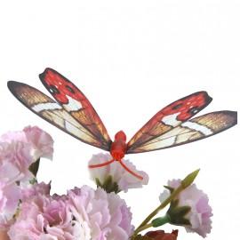 Светящиеся бабочки-магниты 3D на холодильник
