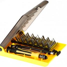 Набор инструментов для ремонта для электроники и мелкой бытовой техники (45 в 1)