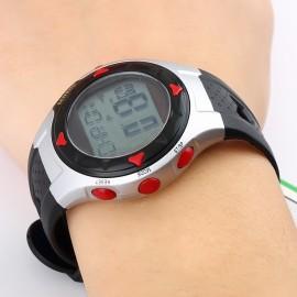Пульсометр-часы, водонепроницаемые, спортивные со счетчиком калорий
