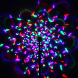 Вращающаяся лампочка - цветомузыка с пультом