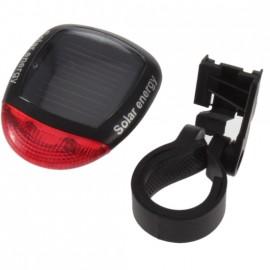 Задний фонарь для велосипеда, на солнечной батарее