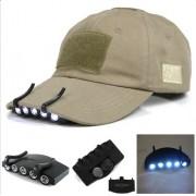 Светодиодный фонарь на кепку (5-ти лампочный)