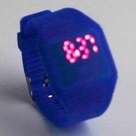 Часы детские электронные наручные с подсветкой