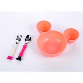 """Детская тарелка с ушками """"мышка"""""""