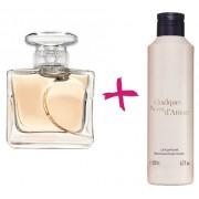 Подарочный набор духи Несколько Нот Любви + парфюмерное молочко лосьон для тела