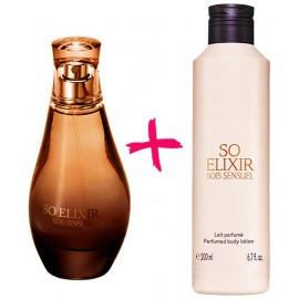 Женский подарочный набор So Elixir Bois Sensuel духи + молочко лосьон для тела
