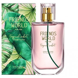 Женские духи Friends World For Her Tropical Sorbet Орифлейм Oriflame 50 мл