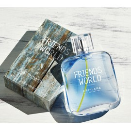 Мужские духи Friends World For Him Френдс Ворлд Орифлейм Oriflame 75 мл