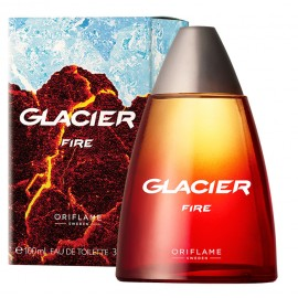 Мужские духи туалетная вода Glacier Fire Глейшер Фаер Орифлейм Oriflame 100 мл