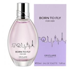 Женские духи туалетная вода Born to Fly For Her Борн Ту Флай Фо Хё 50 мл