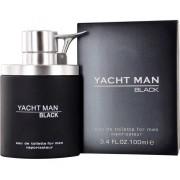 Мужские духи туалетная вода Yacht Man Black Яхт Мен Блек 100 мл