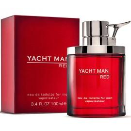 Мужские духи туалетная вода Yacht Man Red Яхт Мен Ред 100 мл