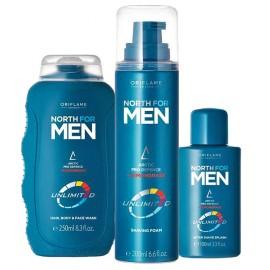 Мужской набор для бритья, волос и тела Норд Анлимитед для мужчин