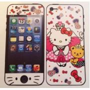 Двусторонняя защитная пленка для iPhone 5, 5S и SE hello kitty 2