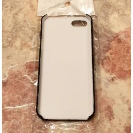 Защитный черный чехол с красивым узором для iPhone 5, 5S и SE