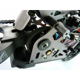 Радиоуправляемая модель мотоцикл Himoto Burstout MX400 спортивный байк