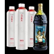 Набор TruAge натуральные соки Нони: Max 3x750мл + Tahitian Noni 1л