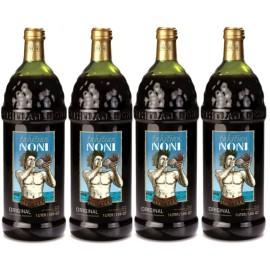 Натуральный сок Нони биоактивный напиток Tahitian Noni, 4 бутылки по 1л