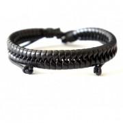 Кожаный плетеный браслет Хенка Муди (Californication)