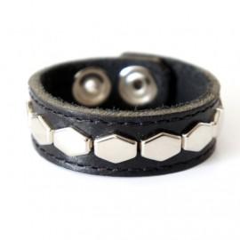 Кожаный браслет Хенка Муди оригинал черный