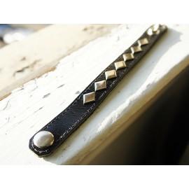 Кожаный браслет Hank Moody (Californication Season 2) черный