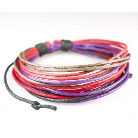 Веревочный кожаный браслет Индия