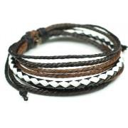 Веревочный кожаный браслет Маркиз