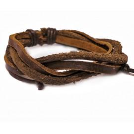 Кожаный браслет Средневековье