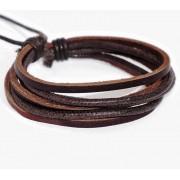 Веревочный кожаный браслет Робинзон Крузо