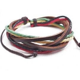 Веревочный кожаный браслет Дон Кихот