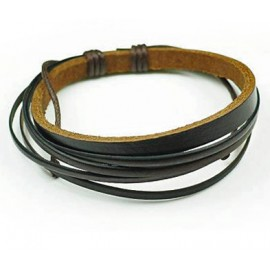Кожаный браслет Кассиопея