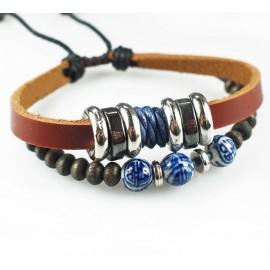 Оригинальный кожаный браслет Оазис